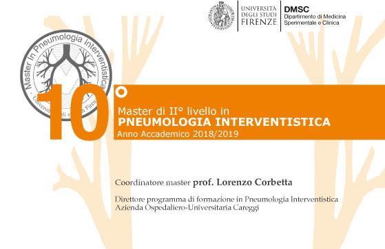 10mo Master di II livello in Pneumologia Interventistica