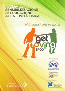 """Il Progetto GET Moving BPCO """"Più PASSI – Più RESPIRO"""" si è concluso: ora non fermarti e continua a muoverti!"""