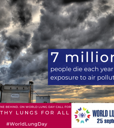 World Lung Day 2019 – 25 Settembre 2019
