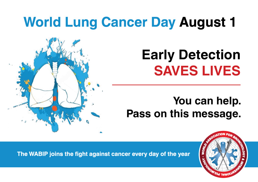 World Lung Cancer Day – 1 Agosto 2019